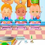 скрин игры Доктор в детской клинике