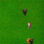 скрин игры Маша и Медведь: Догонялки