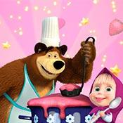 скрин игры Маша и Медведь: Готовим овсянку