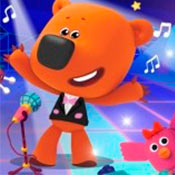 скрин игры Мимимишки: Кеша на концерте