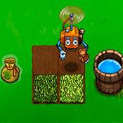 скрин игры Роботы на ферме