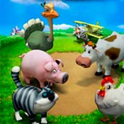 скрин игры Веселая ферма 2