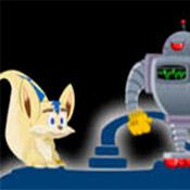 Игра Веселые бродилки: Обойди роботов