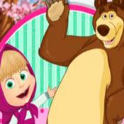 скрин игры Задания от Маши и Медведя