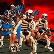 скрин игры Fantasy Battles