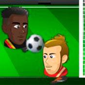 скрин игры Футбол головами: Дуэль на поле