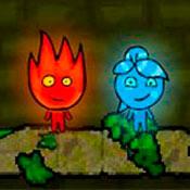 скрин игры Огонь и Вода 1: Лесной храм