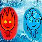скрин игры Огонь и Вода 3: Ледяной храм