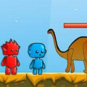 скрин игры Огонь и Вода: Эра динозавров