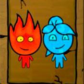 скрин игры Огонь и Вода: Одинаковые пары