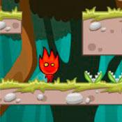 скрин игры Огонь и Вода в джунглях Амазонки