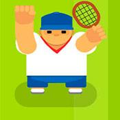 скрин игры Партия в теннис на вылет