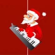 скрин игры Плитки фортепиано: Рождество
