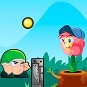 скрин игры Простая: Атака цветка