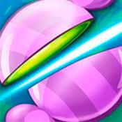 скрин игры Простая: Разрежь конфету