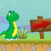 скрин игры Путешествие Динозавра