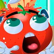 скрин игры Раздави маленький помидор