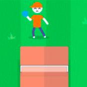 скрин игры Теннис: Стикмены на турнире
