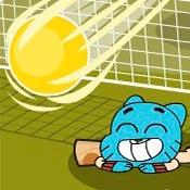 скрин игры Теннисный турнир: Мультяшки