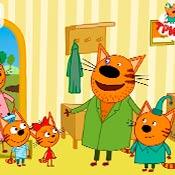 скрин игры Дядя Кекс и котята