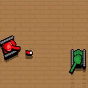 скрин игры Мини-танки в лабиринте