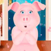 скрин игры Приколы со свинкой