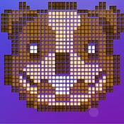 скрин игры Рисуй по пикселям