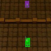 скрин игры Танки в лабиринте: Дуэль