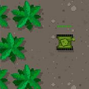 скрин игры Танки в лабиринте: Джунгли