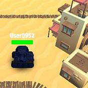 скрин игры Танки в лабиринте: Город