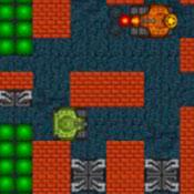 скрин игры Танки в лабиринте: Война
