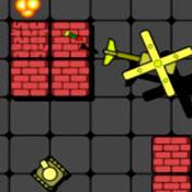 скрин игры Танки в лабиринте: Железная арена
