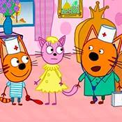 скрин игры Три кота: Доктора