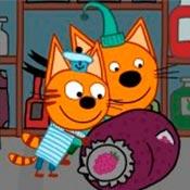скрин игры Три кота: Домашние приключения