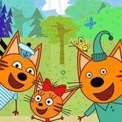скрин игры Три кота на пикнике