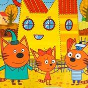 скрин игры Три кота на площадке
