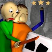 скрин игры Балди и Хулиган