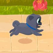 скрин игры Бег с щенками