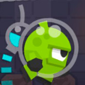 скрин игры Бегалки с пришельцем