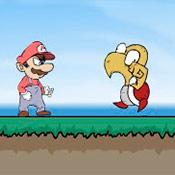 скрин игры Бродилка с Марио