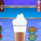 скрин игры Кафе мороженое папы Луи