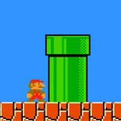 скрин игры Классический Марио