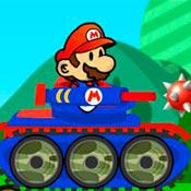 скрин игры Марио танкист