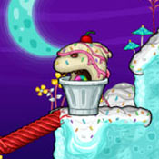 скрин игры Папа Луи: Атака мороженого
