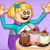 скрин игры Папа Луи: Печенье и мороженое