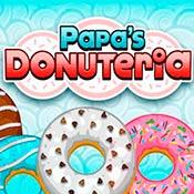 скрин игры Папа Луи: Пончики