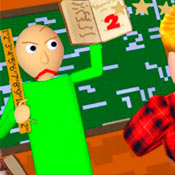 скрин игры Профессор Балди: Пазл