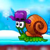 скрин игры Улитка Боб 6: Зима