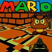 скрин игры Веселая стрелялка с Марио