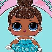 скрин игры Куклы Лол: Бейби Глиттер
